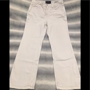NYDJ white straight leg size 12P jeans